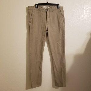 Men's L.O.G.G H&M Skinny Fit pants SZ 34